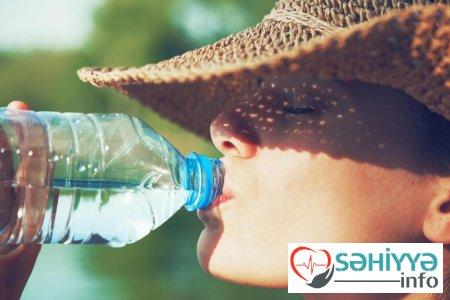 Su içmək ürək çatışmazlığının qarşısını alır - AÇIQLAMA